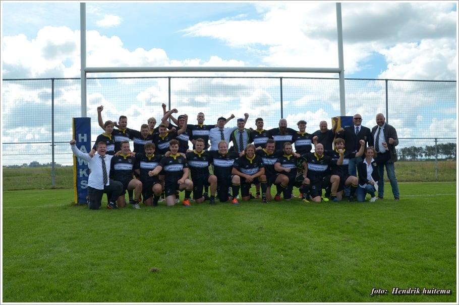 Eerste wedstrijd Rugby Club Sneek