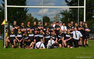 Rugby Club Sneek wint eerste competitie wedstrijd met 45-0